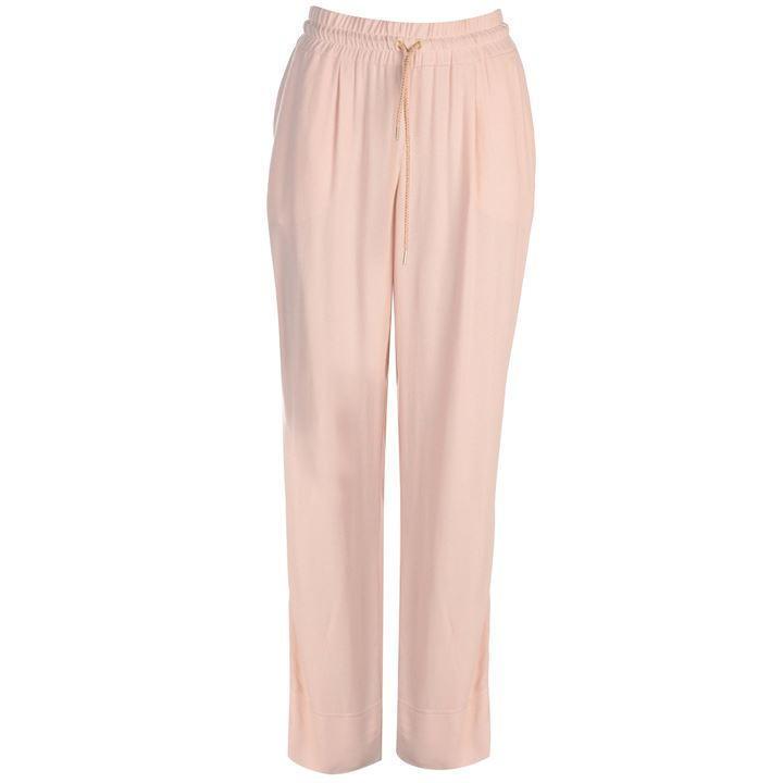 MARC AUREL M Aurel D string Straight Leg Ladies Trousers bluesh Size