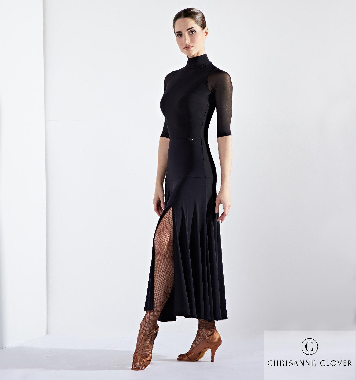 Standard-Rock  Temptress Practice Skirt schwarz  Chrisanne Clover