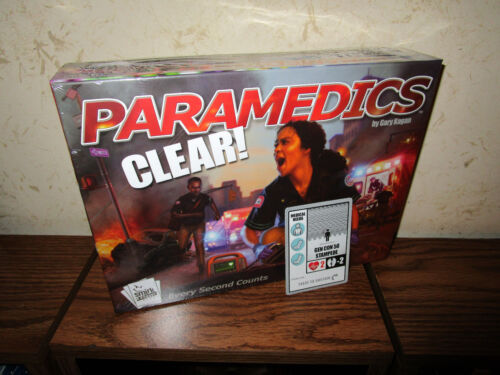 Smirk & Dagger Contemporary Manufacture Board & Traditional Games Paramedics Clear with Gencon 17' Promo Card