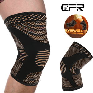 Copper-Knee-Brace-Support-Compression-Sleeve-Football-Joint-Pain-Arthritis-Strap