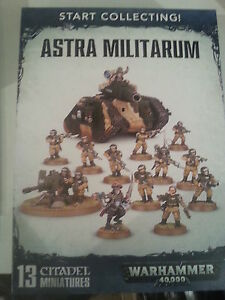 Warhammer 40k commence à collectionner le coffret Astra Militarum - neuf et scellé 5011921071876