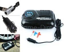 12v Automatic Digital Portable Air Compressor Car Van Travel Tyre Inflator Pump