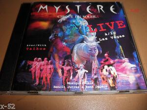 MYSTERE-LIVE-in-LAS-VEGAS-cd-CIRQUE-du-SOLEIL-taikis-Benoit-Jutras-Rene-Dupere