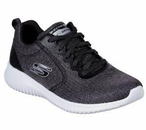 Simply Womens Schwarz Schuhe Free Sneakers Ultra Skechers Sport Flex Damen eED29IYWH