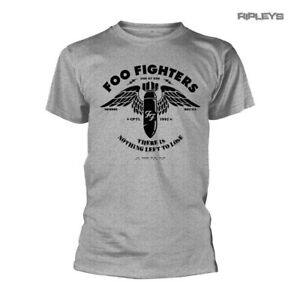 Amplified Foo Fighters cemento e Oro-Unisex T-shirt