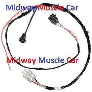 rear floor console wiring harness 64 65 66 pontiac gto ... 65 cutlass wiring harness #13