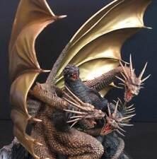 Godzilla vs King Ghidora Dinosaur Monster 1/350 Unpainted Figure Model Resin Kit