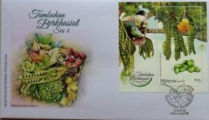 Malaysia FDC with Miniature Sheet (17.05.2018) - Medicinal Plants Series 4