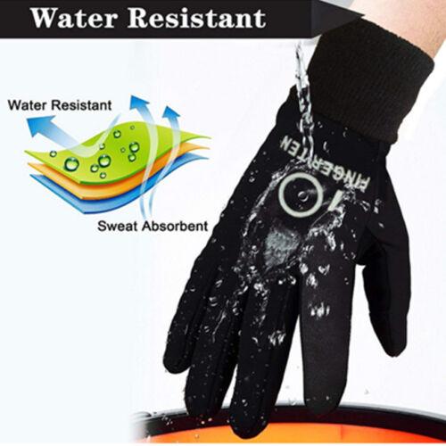 Winter Gloves Kids Boys Girls Waterproof Wind Resistant Touch Screen US Stock