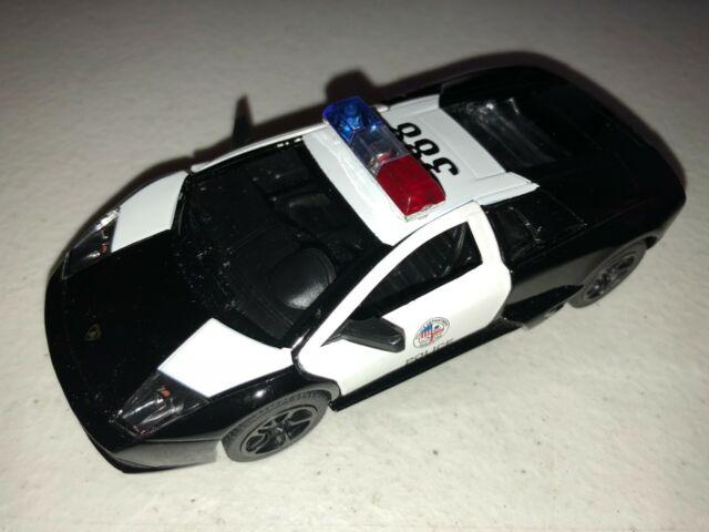 5 Diecast Vehicles Lamborghini Murcielago Lp640 4 Police1 36 Scale