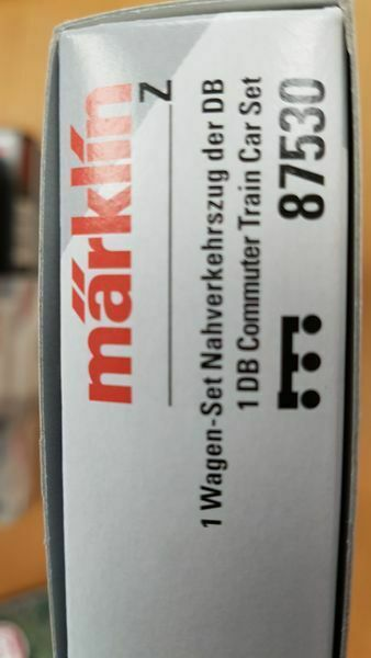 "87530 DB Naverkehrs Wagen-Set ""Umbauwagen"". Neu mit Karton"