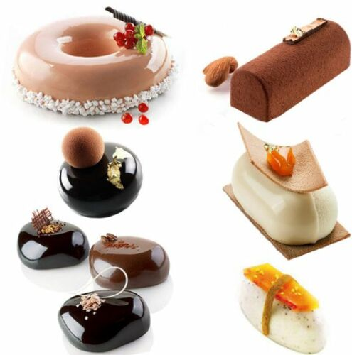 6PCS-Non-Stick-Silicone-Cake-Tools-Mold-Pan-For-Delicate-Chocolate-Quenelles