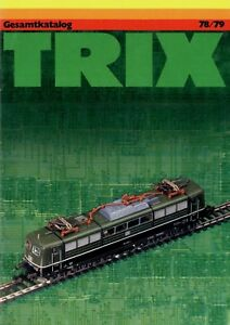 Trix-Gesamtkatalog-1978-1979-Modelleisenbahn-Katalog-catalog-model-railway-Bahn
