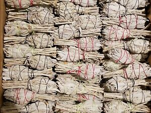 California-White-Sage-Smudge-Sticks-Bulk-Smudging-Choose-1-5-10-50-100-Wholesale