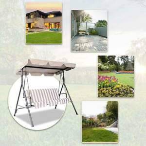 Patio Swing Canopy Top Cover Replacement Outdoor Garden ...