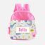 Children/'s School Bag Personalised Dinosaur Raw Girls Pink Kids Backpack