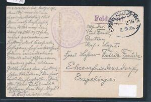 09490) Bahnpost Ovalstempel Dresde-kohlfurt-wroclaw Train 276, Fp 1916-afficher Le Titre D'origine Disponible Dans Divers ModèLes Et SpéCifications Pour Votre SéLection