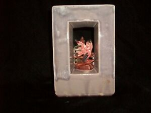 Vintage-McCoy-Art-Pottery-Arcature-Planter-Window-Bird