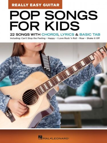 22 Songs with Basic Tab 000286698 Pop Songs for Kids Really Easy Guitar Series