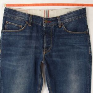 69b70234fdb16 Image is loading Mens-Tommy-Hilfiger-MERCER-Straight-Blue-Jeans-W33-