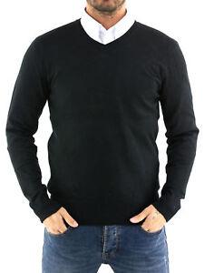 MAGLIA-Uomo-CARDIGAN-slim-fit-Pullover-Maglione-sopra-Giacca-Felpa-Camicia-N4