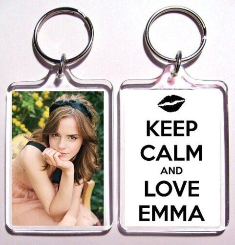 Emma Watson Keychain Porte-clés-plusieurs Designs à Choisir