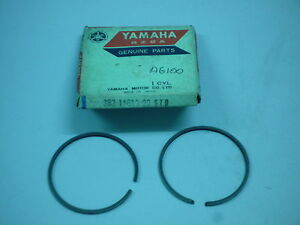 Yamaha ag100 yb100 ls3 l2 piston rings s1 025 size free postage image is loading yamaha ag100 yb100 ls3 l2 piston rings s1 fandeluxe Gallery