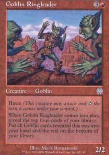 *CCGHouse* Magic Goblin Ringleader X1 MTG Apocalypse NM