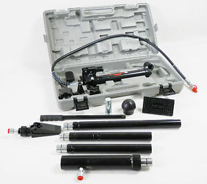 New-Hydraulic-10-Ton-Porta-Power-Auto-Car-Body-Repair-Kit