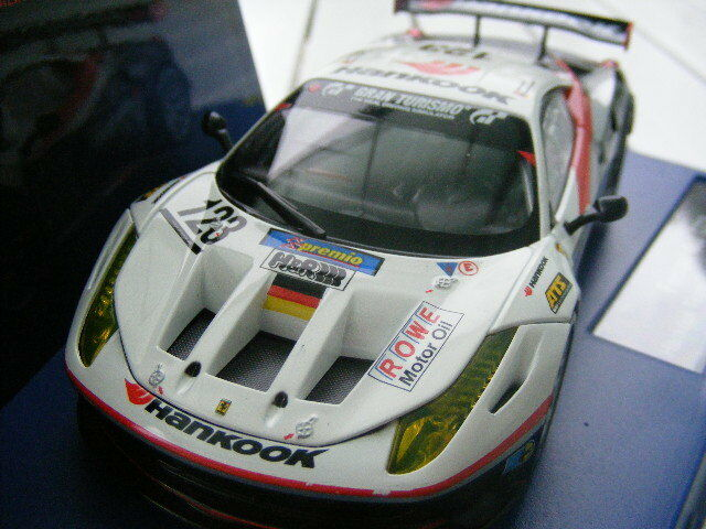 Carrera Digital 132 30554 Ferrari 458 GT2 Hankook Team Fahad   No. 123   2011