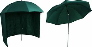 Angelschirm-Schirmzelt-Angelzelt-Angeln-Angel-Sonnenschirm-mit-Seitenplane