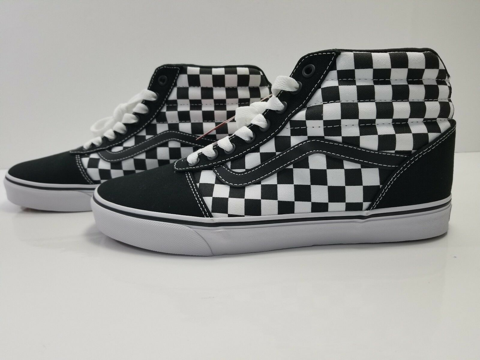 New Vans ward Hi Checkerboard 1Black   White Size  11M US VN0A38DN5GX