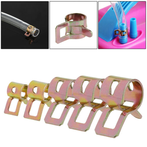 50pcs 5mm 7mm 6mm 8mm 9mm Fuel Hose Spring Clip Air Tube Water Line Pipe Clips