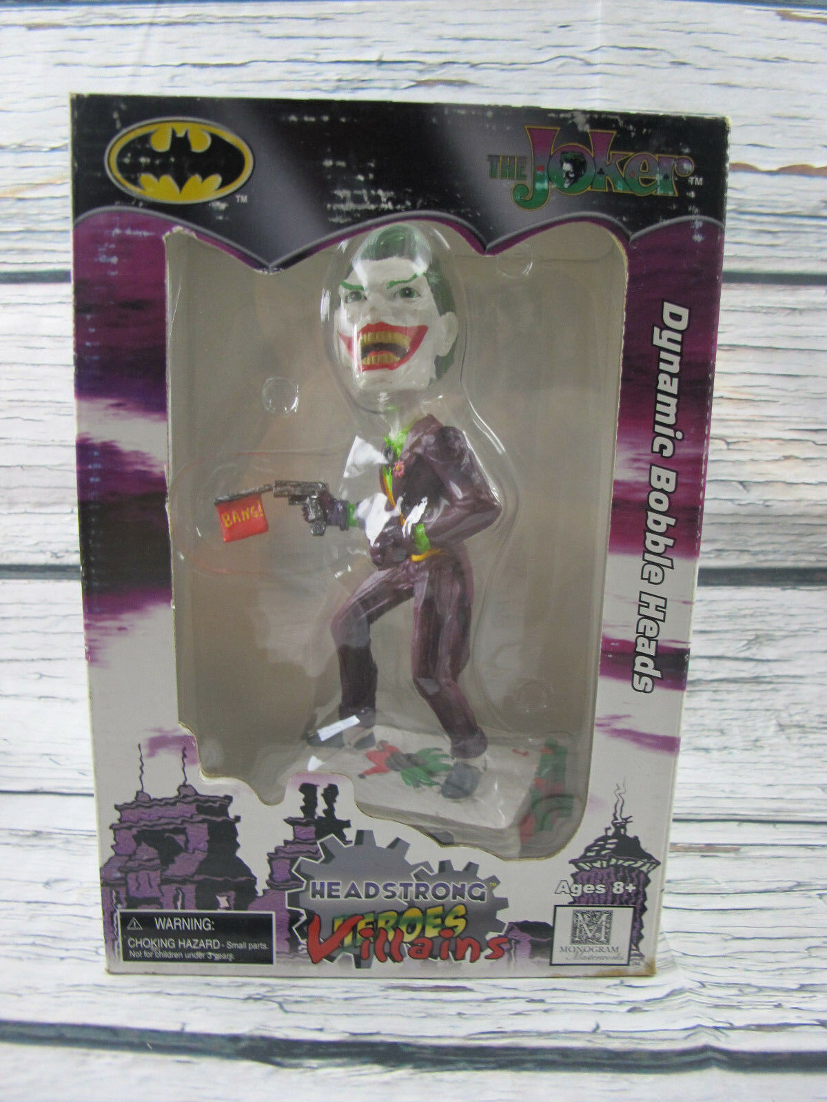 Dynamic Bobble Heads DC The Joker 6.5  in Figure 2004 Monogram Masterworks
