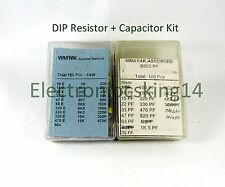 150 nos Resistor  + 100 nos Capacitor DIP Kit with Boxes