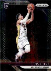 2018-19 Panini Prizm Base Josh Hart Rookie Los Angeles Lakers #46