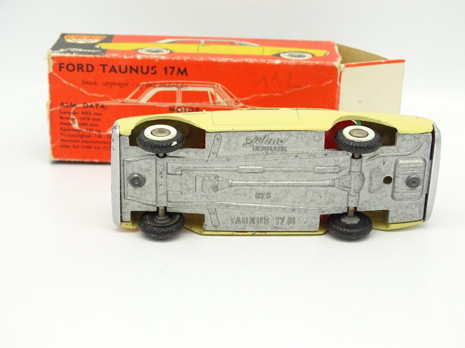 Tekno Tekno Tekno 1/43 - Ford Taunus 17M Jaune Clair 826 2cbfff
