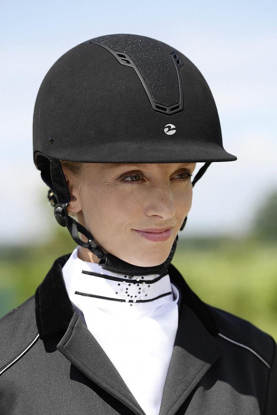 Reithelm Cobara BUSSE Glitzer Sicherheitsreithelm Helm alle Größen schwarz navy  | Schön und charmant  | Stil  | Verschiedene Stile und Stile