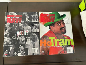 The shortest same day delivery WWF Raw Magazine Lot 1999
