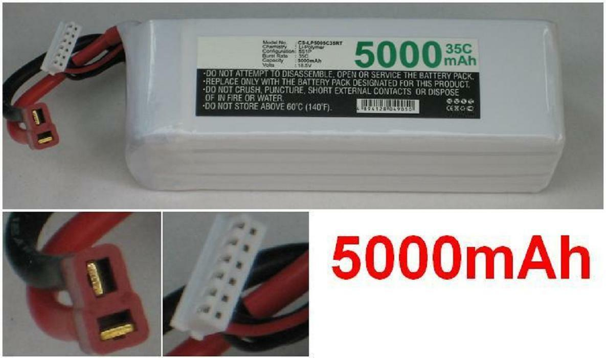 Batterie 18.5V 5000mAh type LP5005C35RT T-Plug AWG14 Pour Generic Generic Generic T-Plug AWG14 08f9e2