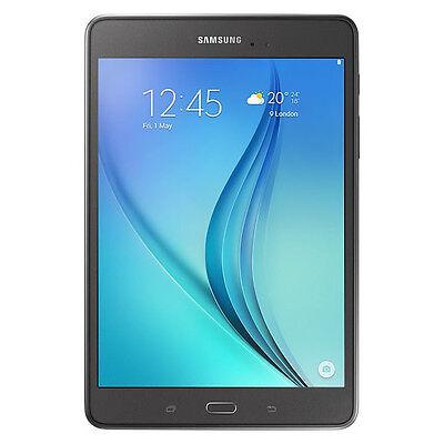 """Samsung Galaxy Tab A 8"""" with 1.2GHz Quad-Core Processor, 16GB - Titanium"""