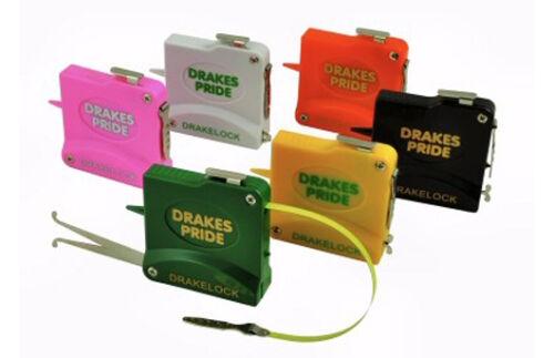 DRAKES PRIDE 10FT DRAKELOCK STEEL BOWLS TAPES / MEASURE IN VARIOUS COLOURS B6040