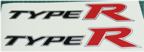 Honda Civic FN2 Type R OEM Rouge x 2 Panneau Latéral Autocollants K20 K Series