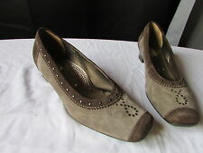 chaussures jenny by ara daim taupe/marron 39 (5C)