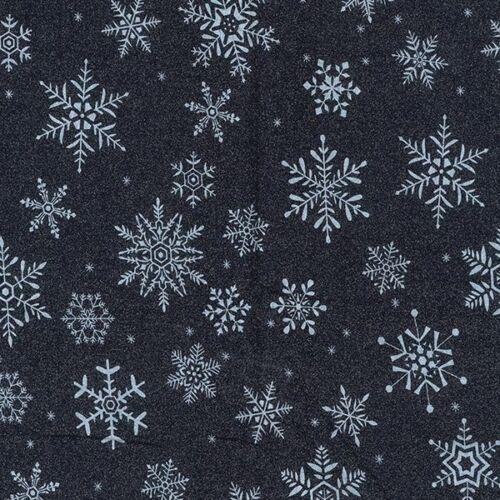 100/% Algodón Navidad grande Vestido De Tela Impresión Copos De Nieve Festivo material 114cm