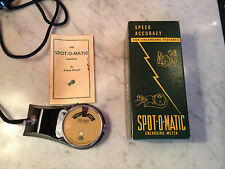 Vtg Kinnard Spot-O-Matic Enlarging Meter Speed Accuracy for Enlarging Pictures