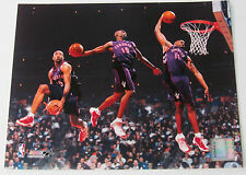 VINCE CARTER 8X10 *LICENSED* PHOTO MULTI EXPOSURE SLAM DUNK