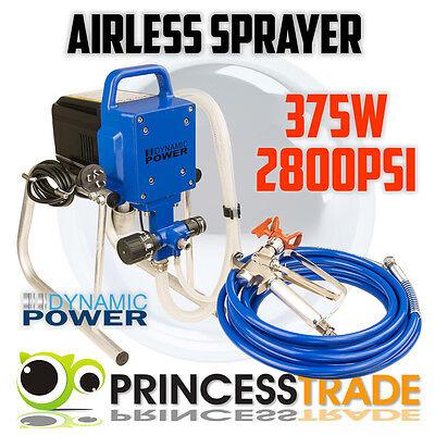 Airless Paint Sprayer Gun Electric Spray Piston Machine Nozzles DIY Tool 240V