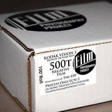 5 CASS NEW FELTLESS 35mm BULK FILM LOADER KIT+25ft KODAK 500T VISION 3 FILM