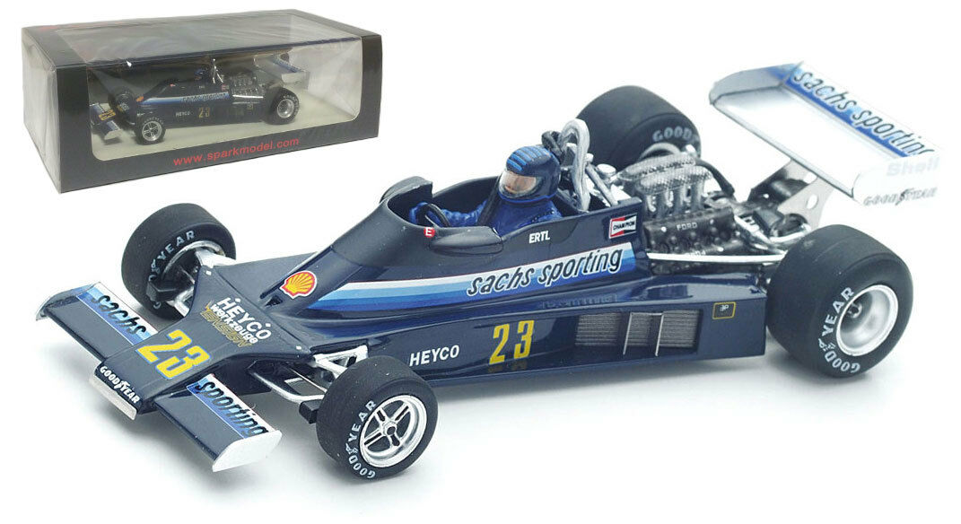 SPARK S4814 Ensign N177  23 GERMAN GP 1978-Harald Ertl SCALA 1/43